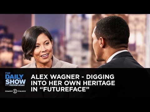 """Alex Wagner - Digging Into Her Own Heritage in """"Futureface"""" 