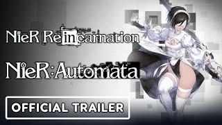 NieR Reincarnation x NieR: Automata - Official 2P Crossover Trailer