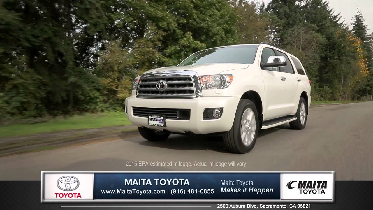 2015 toyota sequoia car review maita toyota new used car