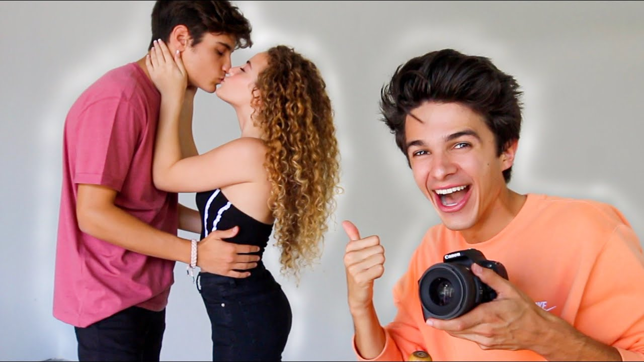 I CAUGHT THEM KISSING ON CAMERA FOR THE FIRST TIME!!