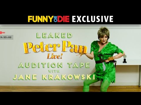 Leaked 'Peter Pan Live!' Audition Tape with Jane Krakowski