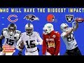 Which Wide Receiver with a New Team Will have the Biggest Impact? | NFL Network
