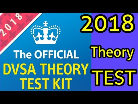 Theory Test  2018 QuestionsAnd Answers