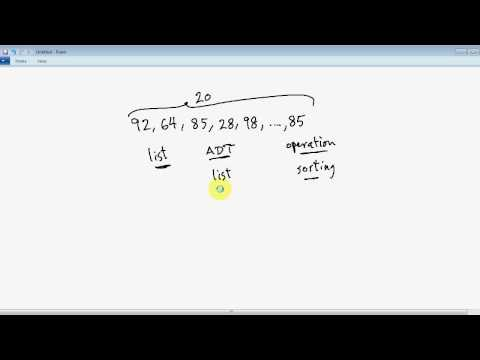 C Programming Tutorial # 45 - Data Structures Concepts And Abstract Data Types (ADT) [HD]