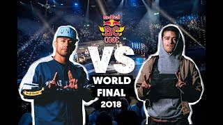 Dr. Hill (CH) vs. Luigi (USA)   Semifinal   Red Bull BC One World Final 2018