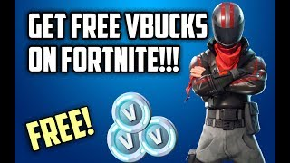 Get FREE VBUCKS AND SKINS on Fortnite! *WORKING 2018* | No Cheats / Hacks