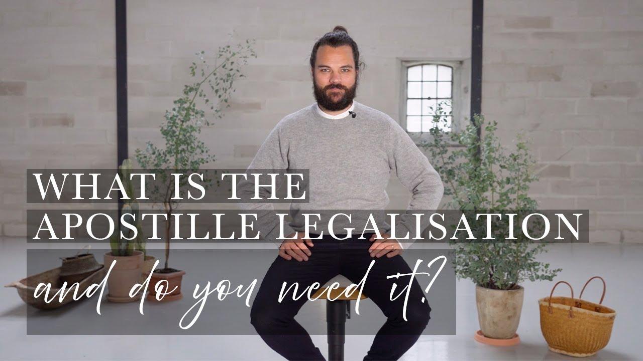 Legalisation mit Haager Apostille in Dänemark (Häufig gestellte Fragen) - Getting Married in Denmark