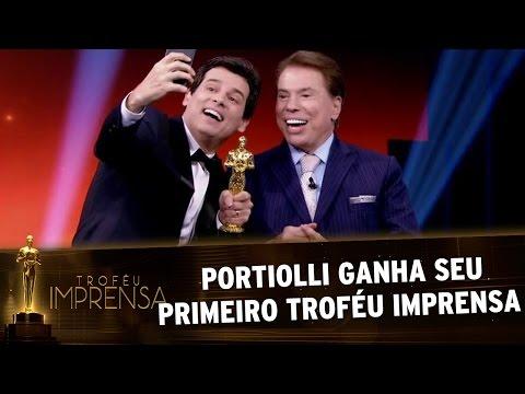 Troféu Imprensa 2017 - Celso Portiolli ganha seu primeiro Troféu Imprensa