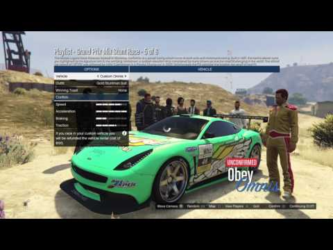 GTA V NEW JAMES BOND CAR (SPECTER) EPIC RACES W/ FRIENDS (GTA FUNNY MOMENTS)