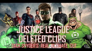 JUSTICE LEAGUE - Deleted Scene Leaked