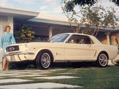 Ford Mustang Commercial Rare Car Ads Of TV Ad YouTube - Classic car ads
