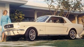 1964 Ford Mustang Commercial! Rare Car Ads (2 of 16) TV Ad
