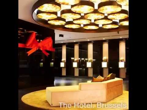 End of Year Decoration at The Hotel. Brussels