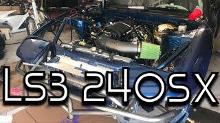 LS3 240sx Install + First Start
