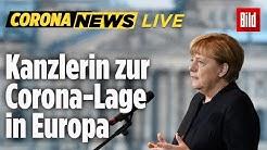 🔴Merkel live nach EU Besprechung