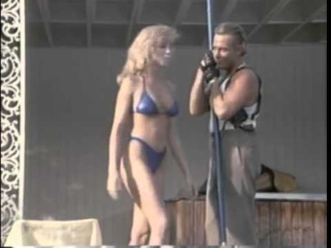 Traci Lords Blue Bikini