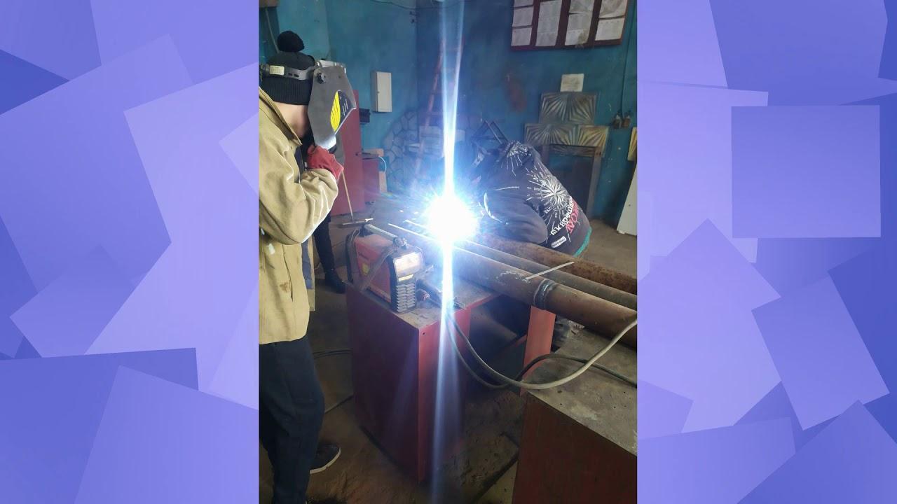 Електрозварник ручного зварювання: освоєння зварювання вузлів трубопроводів