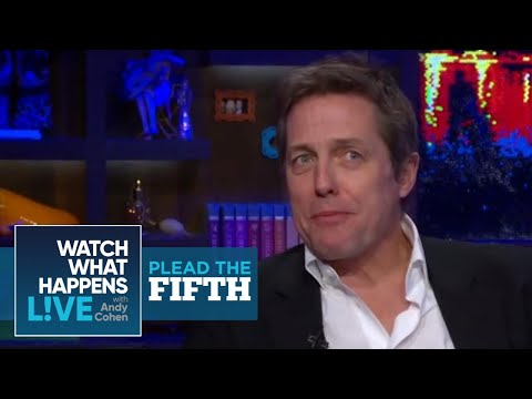 Did Hugh Grant and Elizabeth Hurley Fizzle Out?  Plead the Fifth  WWHL