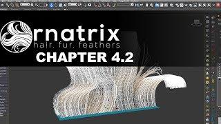 Ornatrix plugin. Base course. Part 4.2
