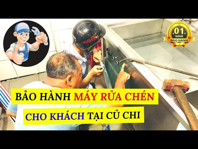 Bảo Hành Máy Rửa Chén Cho Khách Tại Củ Chi   Trùm Phở