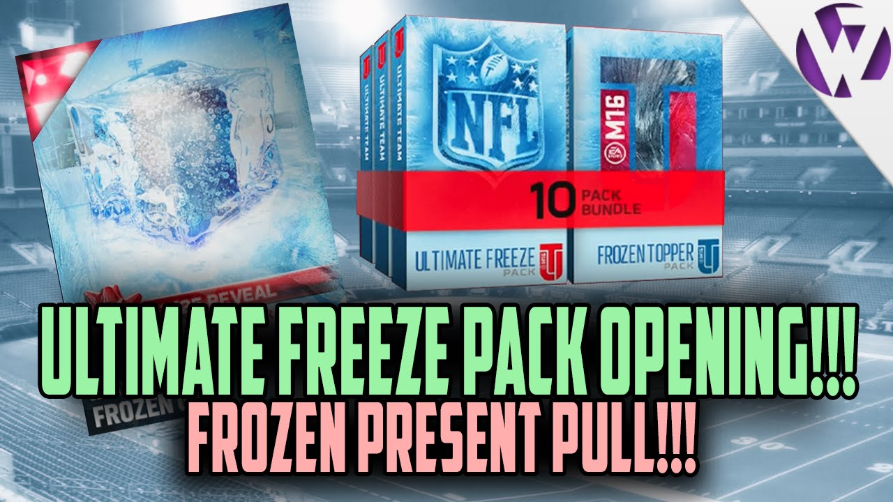 Madden 16 ULTIMATE FREEZE BUNDLE PACK OPENING! FROZEN GIFT PULL ...