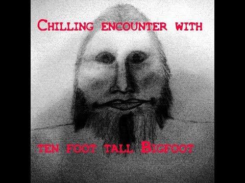 Bigfoot blocks trail *Near abduction*? Chilling account