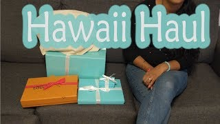 Luxury Hawaii Haul - Louis Vuitton Bags & Tiffany