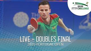 LIVE - Men's & Women's Doubles Final | 2020 ITTF Portugal Open
