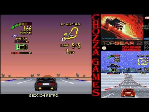 Top Gear 2   SNES   Juego Completo   Longplay