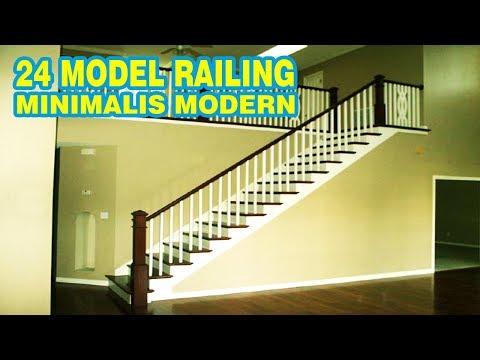 Railing Tangga Minimalis Terbaru  081382822273  YouTube
