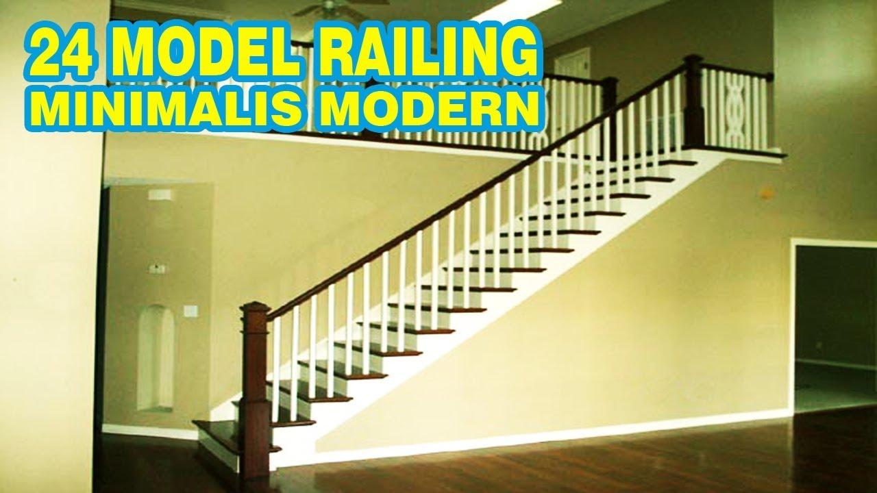 085294254908 Railing Tangga Minimalis Modern Terbaru Youtube