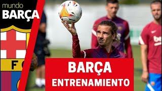 Así ha sido el segundo día de entrenamiento del Barça en Alemania