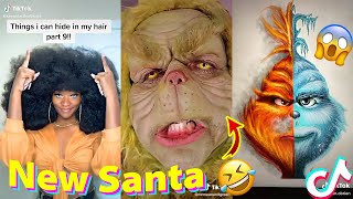 TIK TOK MEMES that made Santa Become the Grinch 😱🤣