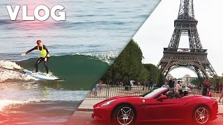 VLOG: HAZARDOUS IN FRANCE! - SURFING & EXPLORING PARIS!