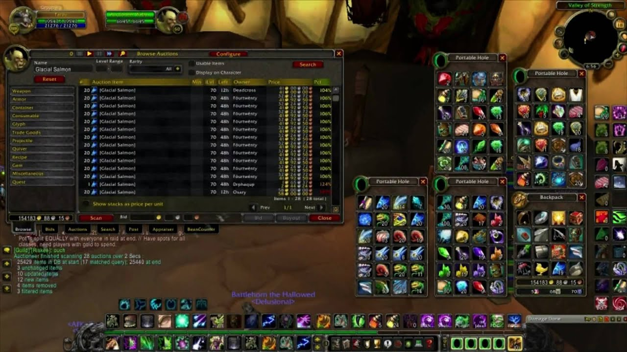How To Make Gold Easily With Fishing In The World Of Warcraft Youtube