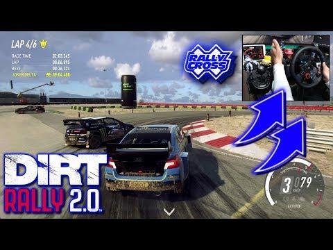 Subaru WRX STI Rallycross PORTUGAL / Logitech G29 DiRT Rally 2.0