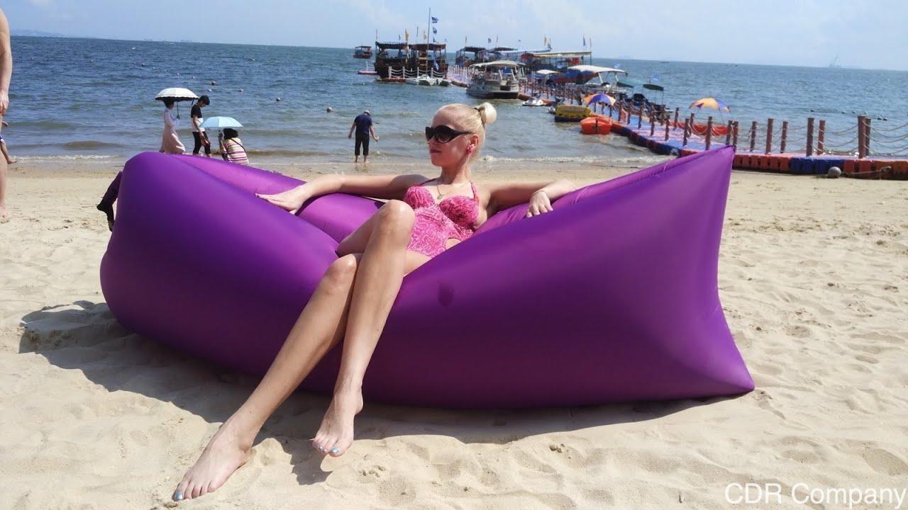 купить надувной лежак ламзак - YouTube