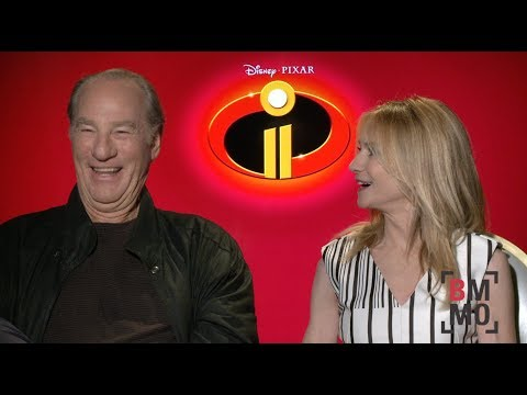 Craig T. Nelson & Holly Hunter   Incredibles 2