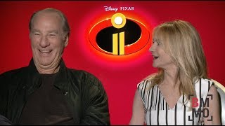 Craig T. Nelson & Holly Hunter Interview - Incredibles 2