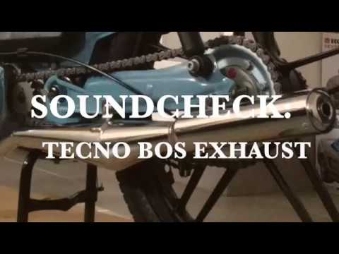 Review: The Puch Tecno Bos Exhaust | Make Puch Great Again