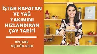İştah Kapatan Ve Yağ Yakımını Hızlandıran Çay Tarifi 🍵diyetisyen Ayşe Tuğba Şeng