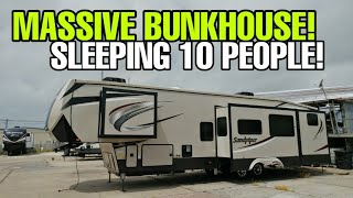 BRING THE ENTIRE NEIGHBORHOOD! Huge Bunkhouse from Sandpiper!