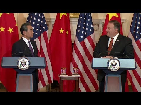 Secretary Pompeo Gives Remarks With Chinese Foreign Minister Wang