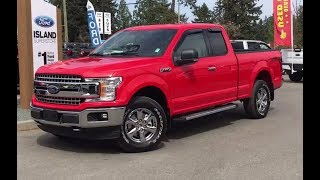 2018 Ford F-150 XLT FX4 XTR V8 SuperCab Review| Island Ford
