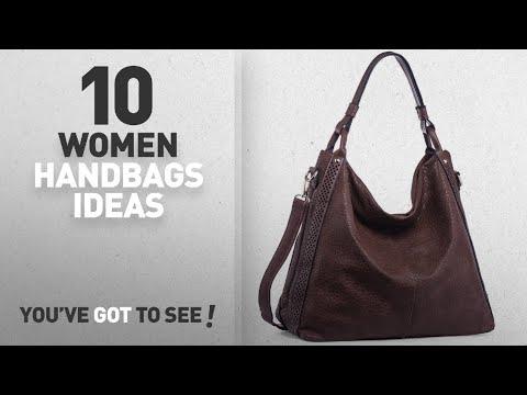 713d4309b Top 10 Dark Brown Handbag [ Winter 2018 ]: WISHESGEM Women Handbags Hobo  Purse Top-Handle Shoulder - YouTube