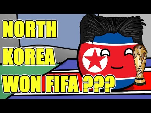 North Korea won FIFA world cup - Countryballs