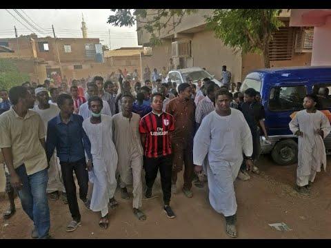 مظاهرات سودانية بعنوان موكب المعتقلين
