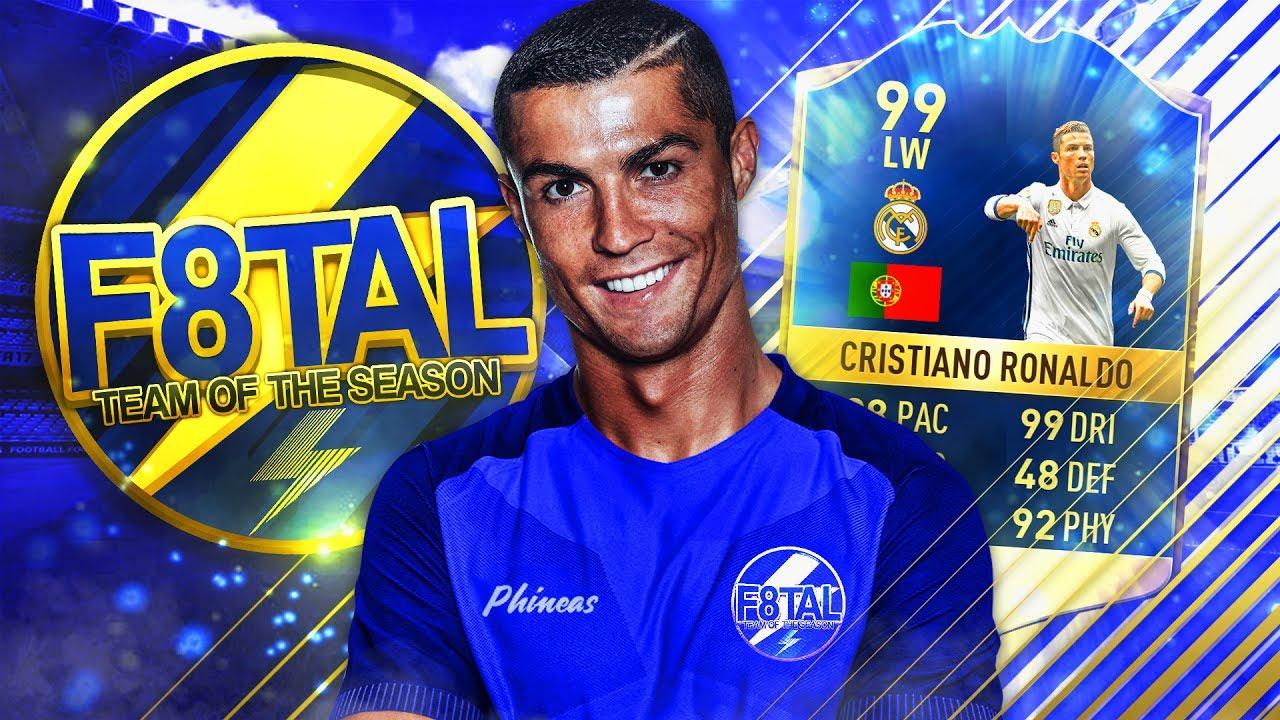 FIFA 17: TOTS F8TAL #1 - RONALDO BRICHT REKORDE ⚡🏆 - YouTube