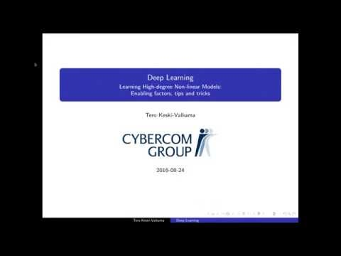 Cybercom Tietoisku: Deep Learning Tips & Tricks