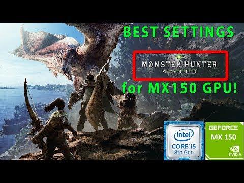 Monster Hunter : World | MX150 | i5 8250u | 8GB DDR4 | Acer Aspire 5 | Budget Gaming Laptop | thumbnail